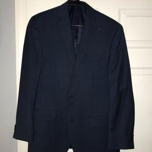 Michael Kors Slim Fit Navy Blue Suit